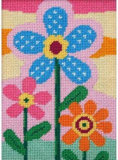 Three Flowers - Needlepoint Kit Alice Peterson http://www.amazon.com/dp/B004LHWTY8/ref=cm_sw_r_pi_dp_n5IUvb1ZTDZWQ