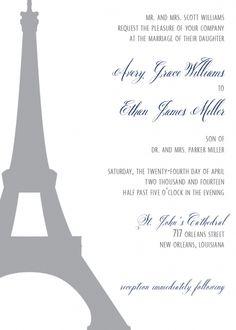 The Elizabeth - Invitation