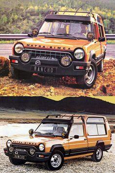 1977 Matra Rancho / crossover / France / orange / Antonis Volanis
