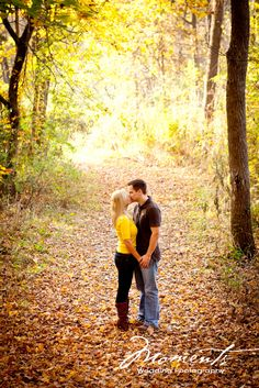 Country Engagement Photos Great positioning in the leaves for an autumn engagement; Christmas (in the snow / standing under mistletoe); capturing that first kiss at an outdoors alter; In the yard of the first home; Christmas Tree Photography, Autumn Photography, Couple Photography, Engagement Photography, Wedding Photography, Photography Ideas, Fall Engagement Shoots, Engagement Couple, Engagement Pictures