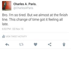 For real. But its #OverTimeGrind #OTG