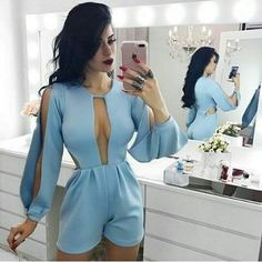 Swans Style is the top online fashion store for women. Shop sexy club dresses, jeans, shoes, bodysuits, skirts and more. Fashion Line, Look Fashion, Girl Fashion, Womens Fashion, Chic Outfits, Summer Outfits, Fashion Outfits, Vetement Fashion, Patchwork Dress