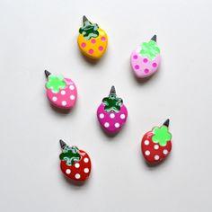 hello shiso plastic strawberry clip