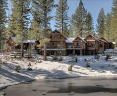 Book Morningstar at Schaffers Mill Vacation Rental in Truckee online or call 800-922-4929.