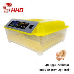 China YZ8-48 Fully Hatchery Machine Mini 48 Chicken Automatic Egg Incubators Sale Auto Turn for Duck Pigeon Quail Parrot