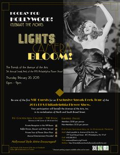 Friends Flower Show Gala - Lights Camera Bloom: Hollywood!- Eventbrite