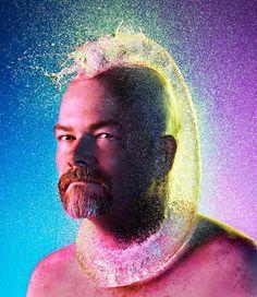 Water Wigs – Cheveux liquides pour hommes chauves, 14 superbes photographies de Tim Tadder