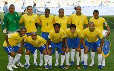 Seleção Brasileira de 2006 Club Football, Brazil Football Team, Brazil Team, Football Soccer, Soccer World, Soccer Fans, Soccer Players, Fifa 17, Football Team Pictures