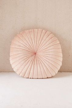 Shelly Round Velvet Cushion
