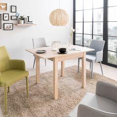 Simplitatea îi oferă designului mesei Oriana un stil fără vârstă. #mobexpert #stoclimitat #reduceri #mobilierdining #mesedining Dining Chairs, Table, Furniture, Home Decor, Hot, Tree Trunk Table, Freiburg, Decoration Home, Room Decor