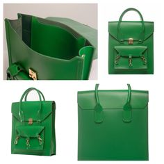 Green medium size tote bag practical for daily use in side the Pelham bag is spacious with a medium size pocket with the Tomas Brilliance logo embossed at the centre of the pocket  #bag #handbag #tote #green