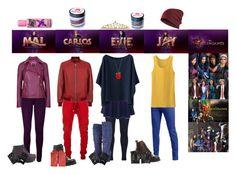 """DIY Disney Descendants Costume"" by pandagirl1106 ❤ liked on Polyvore"