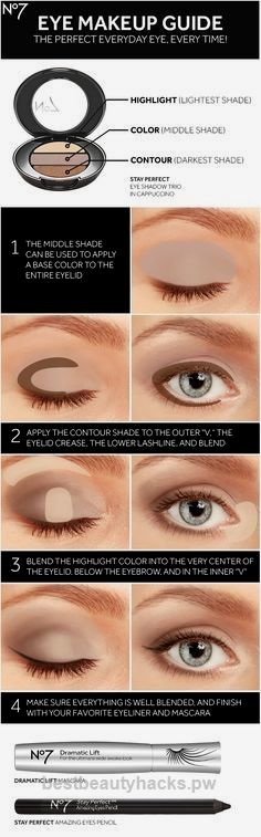 Lovely Sharpen your eye makeup skills with No7 eye shadow, mascara, eyeliner and this how-to guide for a brighter, bigger look. The post Sharpen your eye makeup skills with No7 eye shadow, mascara, eyeliner and this h… appeared first on Beauty 2018-2019 Trends .