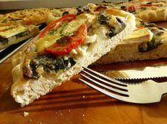 Fotorecept: Slaný koláč s mangoldom