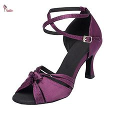 Chaussures Minitoo violettes femme WRiph4