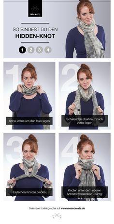 Die Unisex-Schalbindetechnik schlechthin! Der Hidden-Knot ist dein Favorit, wenn es um Etikette und einen stylishen Auftritt geht!