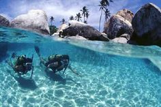 Turks and Caicos Islands snorkeling is the best ever.  Where else can you find such clear waters!