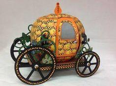 pumkin carriage - Steampunk spells