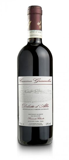 Dolcetto d'Alba DOC 2013 – Gramolere € 9.20 About the producer  The typical red wines of the Langhe: Barolo, Dolcetto, Barbera, produced by Cascina Gramolere, a small company located in Castelletto, a remote area on the hills adjacent to Monforte d'Alba, are the product of the 4.5 hectares of vineyards located on average-size hills from which roughly 20,000 bottles are produced every year. All the work in the vineyard is carried out exclusively by hand. #barolo #piedmont #italy #langhe