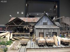 Contest Models: Dioramas and structures #modeltrainlayouts #modelrailroadsupplies