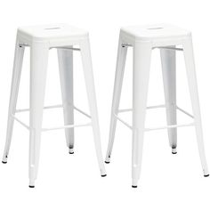 I pinned this Marius Bar Chair in White (Set of 2) from the ZUO Furniture event at Joss and Main!