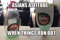 Asian Attitude when things run out #desi #asian #www.asianlol.com