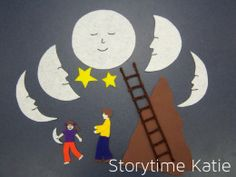 So, so, so many felt board templates to make for storytime. Tons of stories to choose from.