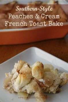 Easy baked french toast, Baked french toast and French toast on ...