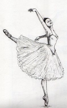 Pin de tasneem eldegwy en fashion en 2019 ballet drawings, p Ballet Drawings, Dibujos Tumblr A Color, Ballet Painting, Ballerina Art, Best Friends Forever, Creative Art, Art Sketches, Line Art, Wallpaper