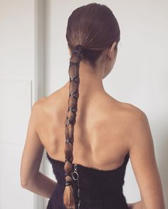 Long Low Ponytail Hairstyle