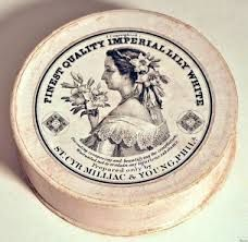 19th century face powder - Milliac & Young