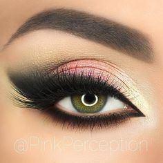 Monday is taking a back seat to this beautiful look by She used Makeup Geek eyeshadows in Simply Marlena, Corrupt, Vanilla Bean & Shimma Shimma. A wonderful way to start the week! Eye Makeup Designs, Eye Makeup Art, Dior Makeup, Skin Makeup, Makeup Inspo, Eyeshadow Makeup, Makeup Inspiration, Beauty Makeup, Pink Eyeshadow