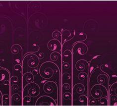 Swirls Flower Pattern Vector