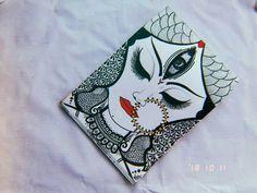 Art Drawings Beautiful, Dark Art Drawings, Art Drawings Sketches Simple, Pencil Drawings, Mandala Art Lesson, Mandala Artwork, Doodle Art Drawing, Mandala Drawing, Durga Painting