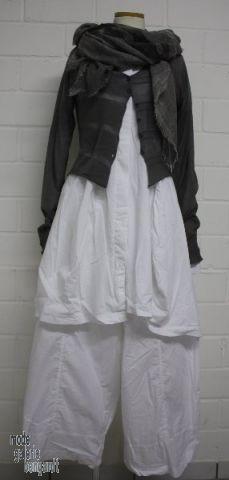 "www.modegalerie-bongardt.de - rundholz mode, rundholz black label, rundholz dip Rundholz black label Sommer 2014 weite Hose/Hosenrock ""Popeline-Jersey-Mix""...in 3 verschiedenen Farben ! 850111/S14"