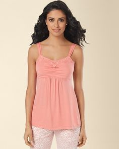 Soma Intimates Embraceable Cool Nights sleepwear is the best!  Cool and comfortable!