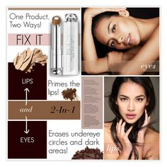 """""""Beauty Tips: One Product, Two Ways!"""" by mcheffer ❤ liked on Polyvore featuring beauty, Urban Decay, Christian Dior, Bobbi Brown Cosmetics, Beauty and twoways"""