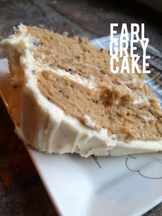 I bet this could be made gluten free... I would make thinner layers and double. Yum. recipe: earl grey (birthday) cake