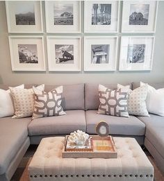 New Home Decoration Inspiration Pictures 66 Ideas New Living Room, My New Room, Living Room Decor, Gallery Wall Living Room Couch, Living Room Picture Ideas, Snug Room, Small Lounge, Lounge Decor, Decoration