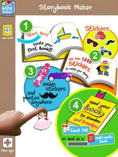 StoryBook Maker Review [Speechy Musings]  Pinned by SOS Inc. Resources http://pinterest.com/sostherapy