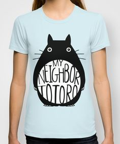 my neighbor totoro t-shirt #miyazaki #gifts