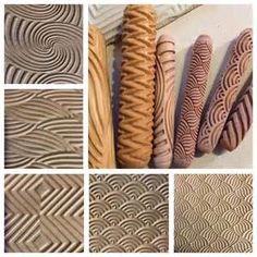 empreintes sur poterie - Bing images