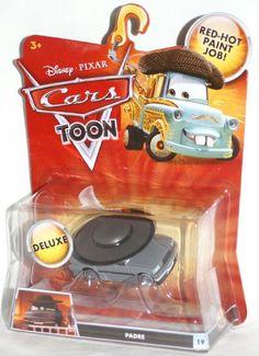 (FOR EM) Amazon.com: Disney / Pixar CARS TOON 155 Die Cast Car Oversized Vehicle Padre: Toys & Games