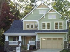 Craftsman House Plan with 2286 Square Feet and 4 Bedrooms(s) from Dream Home Source | House Plan Code DHSW17644