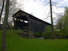 My sister Cassandra lived a short walk from this bridge. I have pictures if her and my mother and myself here. They have both past. I will never forget them! Mercer County, Missing Home, Covered Bridges, Travel Usa, Places Ive Been, Past, Cities, Forget, Spaces
