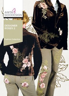Designer Roses 2 collection  from Anita Goodesign