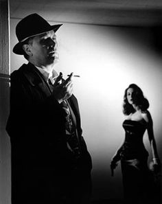I belive this is Jane Greer and Robert Mitchum but I don't know which film #film #movie #noir