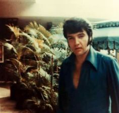 Candid Photo of Elvis Presley taken in Hawaii in 1969