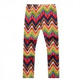 Richie House Little Girls Multi Color Bold Tapestry Weave Stretch Pants 2-4 - SophiasStyle.com