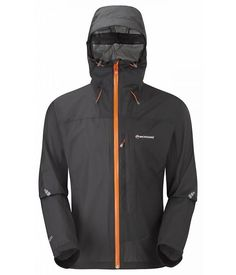 Montane Minimus outdoor jas heren zwart/antraciet